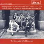 Mozart: Serenade for Wind Octet, K. 388; Kvandal: Two Nonets for Wind Instruments and Double-Bass