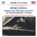 Henry Cowell: Instrumental, Chamber and Vocal Music, Vol. 2
