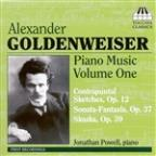 Alexander Goldenweiser: Piano Music, Vol. 1