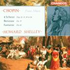 Chopin: 4 Scherzi, Berceuse, Fantaisie / Howard Shelley
