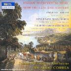Italian Instrumental Music From Late 18th Century