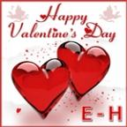 Happy Valentine's Day E-H