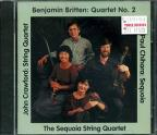 Britten: Quartet No 2;  Chihara, Crawford / Sequoia Quartet