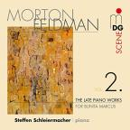 Morton Feldman: The Late Piano Works, Vol. 2