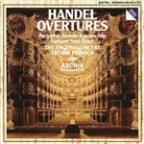 Handel: Overtures / Trevor Pinnock, The English Concert