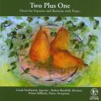 Two Plus One: Duets For Soprano & Baritone With P