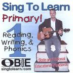 Sing To Learn Primary! Reading, Writing, and Phonics 1