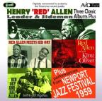 Three Classic Albums Plus: Red Allen Meets Kid Ory/We've Got Rhythm/Red Allen Plays King Oliver