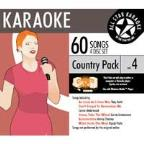 Karaoke: Country Pack 4