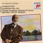 Ives: Symphonies Nos. 1 &amp; 4/Hymns