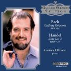 Bach: Goldberg Variations; Handel: Suite No. 2, HWV 427