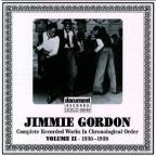 Jimmie Gordon, Vol. 2: 1936 - 1938