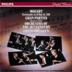 Mozart: Gran Partita /Brüggen, Orchestra of the 18th Century