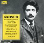 Kreisler: The Earlier Concerto Recordings