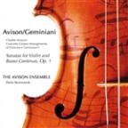 Avison: 12 Concerti Grossi after Geminiani