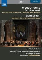 Mussorgsky: Pictures at an Exhibition; A Night on Bare Mountain; Serebrier: Symphony No. 3
