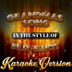 Grandmas Song (In The Style Of Billy Elliot) [karaoke Version] - Single