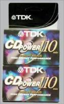 CD Power-110l2 High Bias Cassettes - 2 Pack