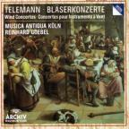 Telemann: Wind Concertos