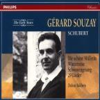 Early Years - Schubert: Lieder / Gérard Souzay, Baldwin