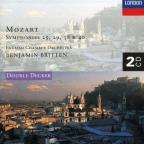 Mozart: Symphony Nos.25, 29, 38 & 40/Serenata Notturna In D Major