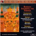 Russian Favorites for Strings / Somary, English CO