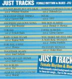 Female R&B: Just Tracks