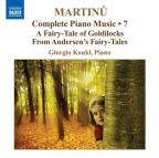 Martinu: Complete Piano Music, Vol. 7
