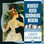 Debussy, Reger, Schonberg & Webern arranged for chamber ensemble