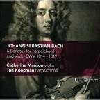 Bach: 6 Sonatas for Harpsichord and Violin, BWV 1014-1019