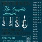 Beethoven: The Complete Quartets, Vol. III