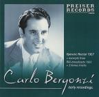 Carlo Bergonzi: Early Recordings