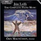 Jon Leifs: The Complete Piano Music