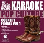 Karaoke Pop Culture: Country Female Vol. 1