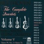 Beethoven: The Complete Quartets, Vol. V
