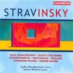 Igor Stravinsky: Duo Concertant; Suite Italienne; Divertimento; Pastorale; Ballad; Chanson Russe; Danse Russe
