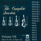Beethoven: The Complete Quartets, Vol. VII