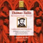 Thomas Tallis: Lamentations and Contrafacta