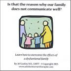 Is That the Reason Why Our Family Does Not Communicate?