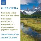 Alberto Ginastera: Complete Music for Cello and Piano