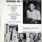 Footnotes to Jazz, Vol. 3: Jazz Rehearsal I