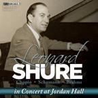 Leonard Shure in Concert at Jordan Hall