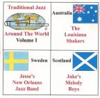 Traditional Jazz Around the World, Vol. 1