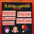 Addition, Multiplication, Phonics, The Solar System , States & Capitals