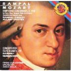 Mozart: Sinfonia Concertante, Cto for Fl and Harp / Rampal