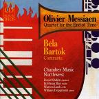 Olivier Messiaen: Quartet for the End of Time; Bartok: Contrasts