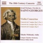 Boulogne: Violin Concertos