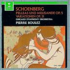 Schoenberg: Pelleas and Melisande, etc / Boulez, Chicago SO