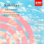 Sibelius: Symphonies No 2 & 3 / Rattle, City Of Birmingham