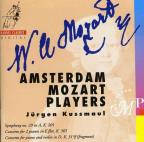 Mozart: Symphony No. 29; Concerto for 2 pianos, K365; Concerto for piano and violin, K315f
